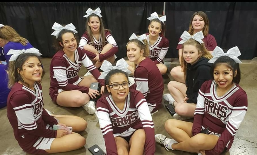 Paint Rock Cheerleaders Compete at State