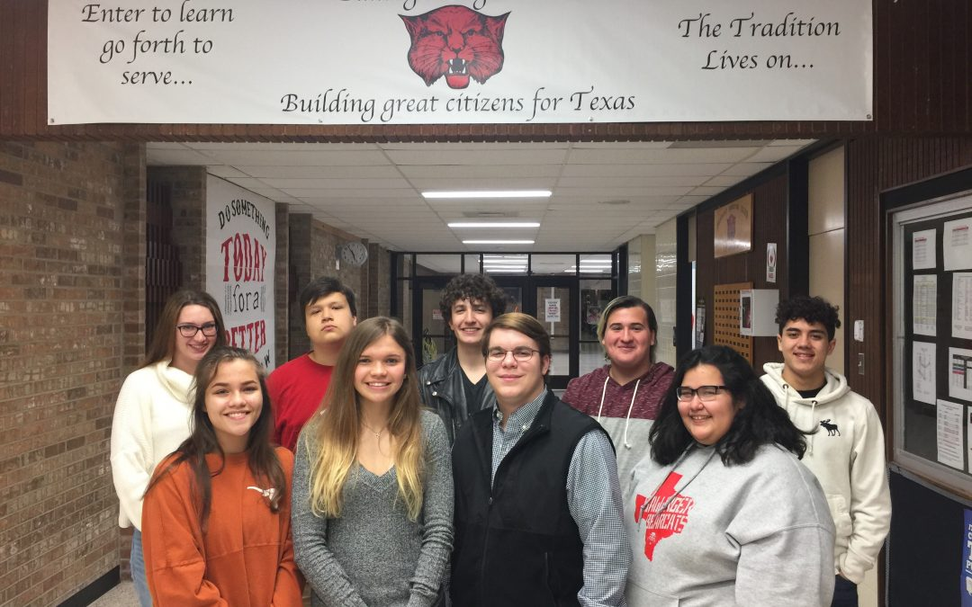 BALLINGER HIGH SCHOOL STUDENTS TAKE TOP RATINGS IN UIL REGIONAL VOCAL COMPETITION AND ADVANCE TO STATE