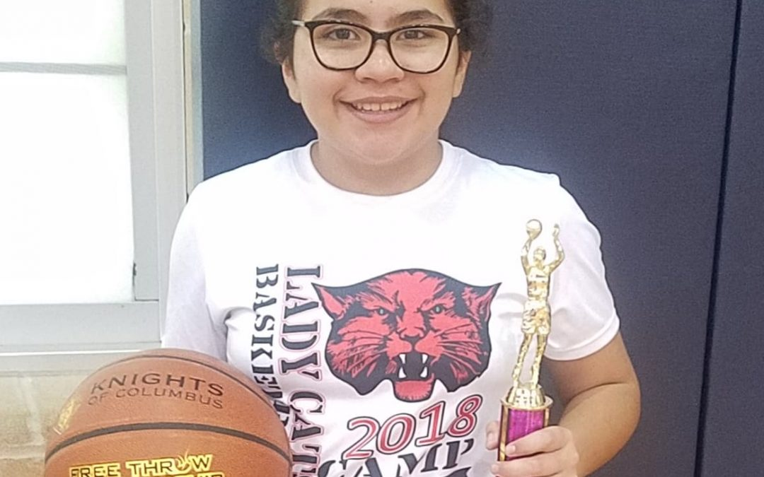 Ballinger youth wins state title in Knights of Columbus Free throw competition