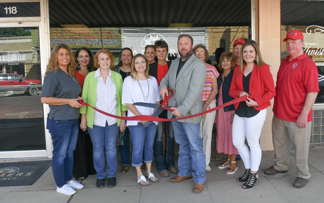 Ribbon Cutting Ceremony for Conrad Insurance Office