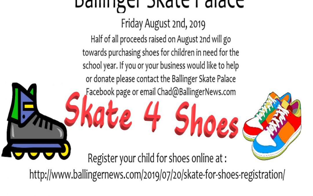 Skate Palace hosting Back to School Skate for Shoes