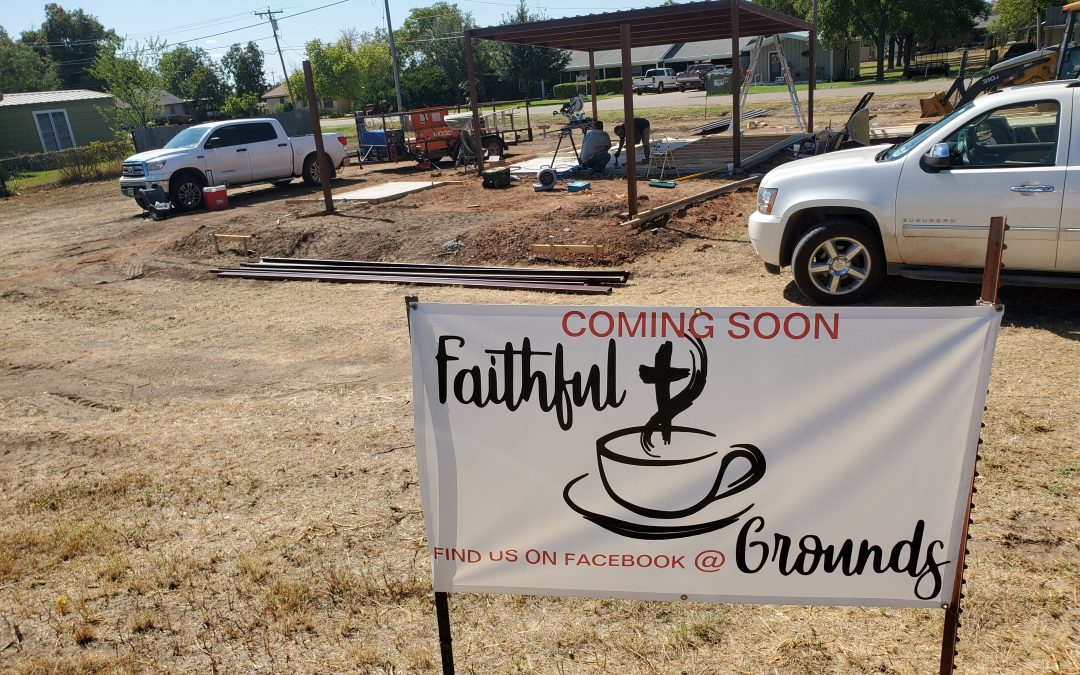 Faithful Grounds, Breaking New Ground