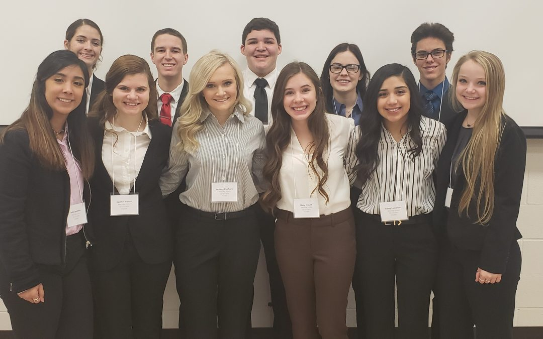 Miles Business Professionals of America perform well at Regionals now on to State