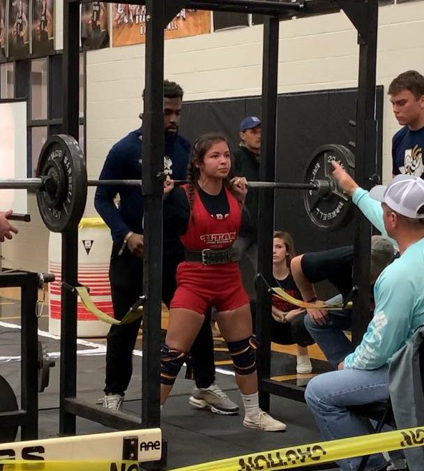 Ballinger Freshman qualifies for Powerlifting Regionals