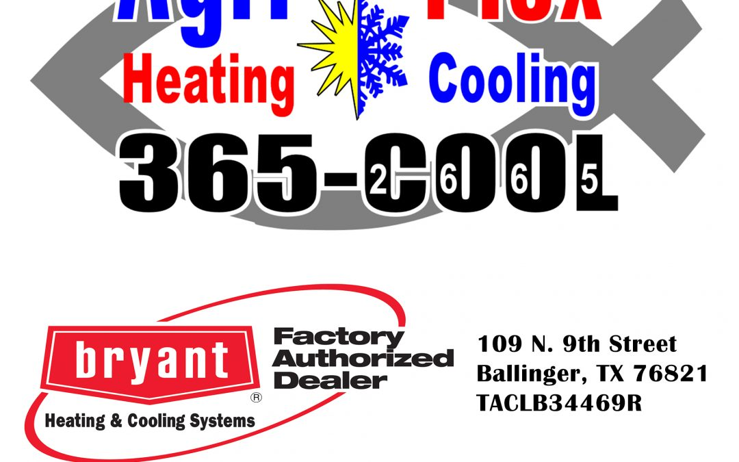 Agri-Plex Heating & Cooling in Ballinger is now Hiring