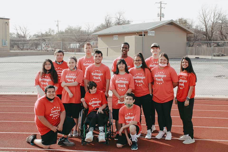Ballinger Unified Track Competes well at Regionals