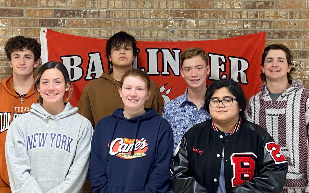 Seven Ballinger High School Vocalists Advance to State